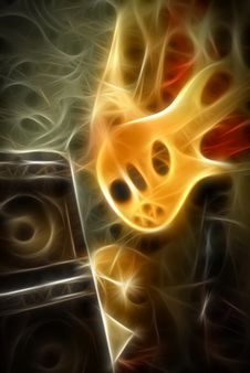 Free Illustration Of Guitar Stock Photo - 5806970