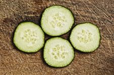 Free Slices Of Cucumber Royalty Free Stock Photos - 5807158