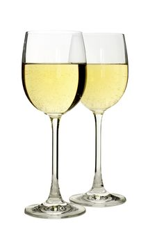 Free Two Glasses Of Wine Stock Images - 5807204