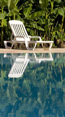 Free Sunlounger By The Swimming Pool Stock Photo - 5807230