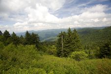 Free Blue Ridge Parkway View Stock Photography - 5807492