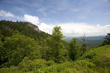 Free Blue Ridge Parkway View Royalty Free Stock Photos - 5807518