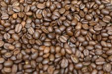 Free Coffee Beans Background Stock Image - 5807671