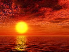 Free Beautiful Sunset Stock Image - 5808031