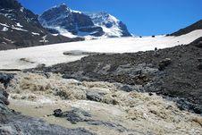Columbia Glacier Stock Photography