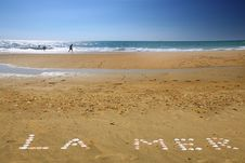 Free La Mer Stock Image - 5808691
