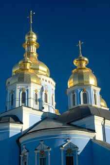 Free St. Michael S Golden-Domed Monastery Royalty Free Stock Photos - 5809158