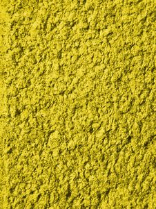Fine Textured Yellow Background Royalty Free Stock Photography
