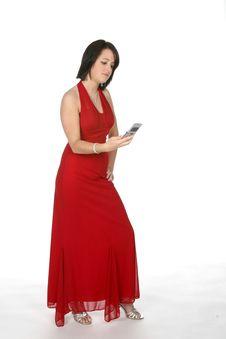 Free Prom Dress Teen Royalty Free Stock Image - 5809336