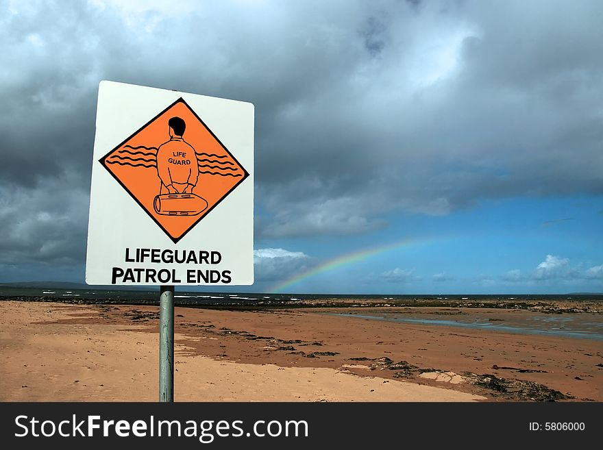 Lifeguard sign 7