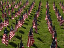 Free American Flags Royalty Free Stock Photos - 5811008
