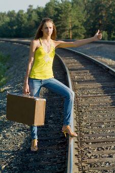 Free Walks By Rail Royalty Free Stock Photo - 5811595