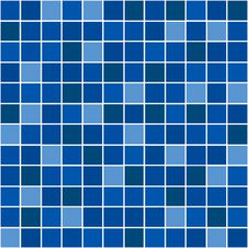 Free Blue Mosaic Stock Photo - 5811720