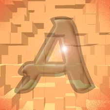 Free Alphabet Series: Letter A Royalty Free Stock Photography - 5811957