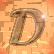 Free Alphabet Series: Letter D Royalty Free Stock Photo - 5811965