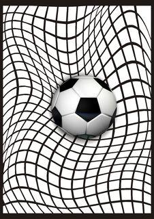 Soccer Art Royalty Free Stock Photos