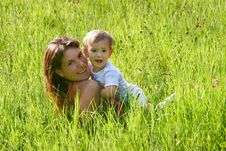 Free Happy Mother And Son Royalty Free Stock Images - 5812289