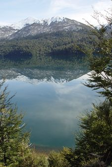 Free Reflected Mountains On The Lake Stock Photo - 5812450