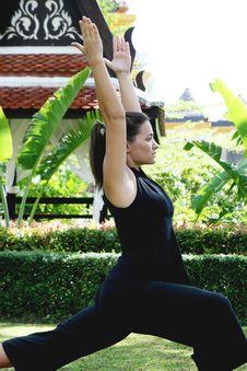 Free Yoga Royalty Free Stock Photos - 5812468