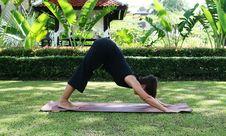 Free Yoga Royalty Free Stock Image - 5812506