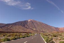 Free Toward The Teide Volcano Royalty Free Stock Image - 5812566