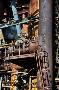 Free Steel-making Furnace Royalty Free Stock Photos - 5812658