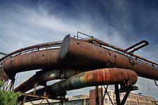 Free Steel-making Furnace Stock Image - 5812671