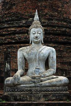 Free Thailand, Sukhothai: Phra Atchana At Wat Si Chum Royalty Free Stock Photography - 5812777