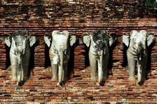 Free Thailand, Sukhothai: Wat Sorasak Stock Images - 5812834