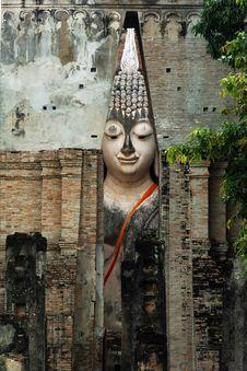 Free Thailand, Sukhothai: Phra Atchana At Wat Si Chum Stock Photos - 5813003