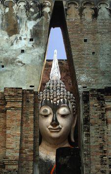 Free Thailand, Sukhothai: Phra Atchana At Wat Si Chum Royalty Free Stock Photos - 5813108
