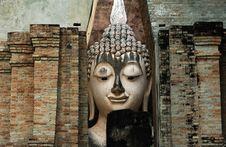 Free Thailand, Sukhothai: Phra Atchana At Wat Si Chum Royalty Free Stock Photography - 5813157