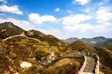 Free Great Wall Of China Royalty Free Stock Photo - 5813185
