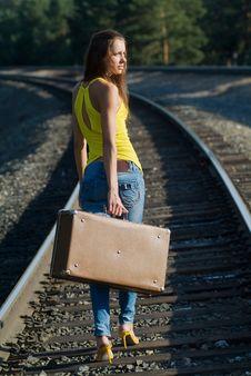 Free Walks By Rail Stock Photos - 5813313