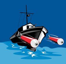 Free World War Two Torpedo Boat Stock Photo - 5813420