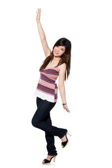 Free Happy Teenage Girl Stock Photo - 5813690
