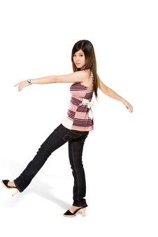 Free Happy Teenage Girl Stock Images - 5813694