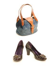 Shoes With Handbag Stock Image