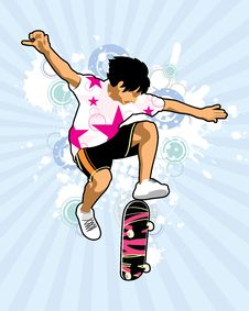 Free Skateboarder Royalty Free Stock Photography - 5814167