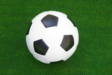 Free Ball In The Green Grass Royalty Free Stock Image - 5814186