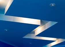 Free Blue Interior Stock Photo - 5814640