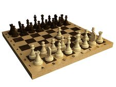 Free Old Chess Royalty Free Stock Photos - 5814788