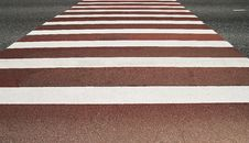 Free Pedestrian Crossing Royalty Free Stock Photography - 5814797
