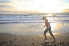 Free Sport On The Beach Stock Photos - 5815003