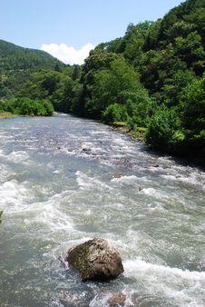 Free Rapid Mountain River Royalty Free Stock Photos - 5815108