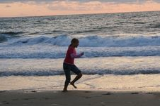 Free Sport On The Beach Royalty Free Stock Images - 5815249
