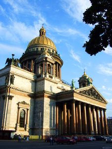 Free Cathedral In St.-Petersburg. Royalty Free Stock Images - 5815259