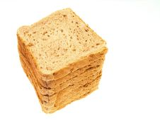 Stack Of Sliced Bread Royalty Free Stock Images