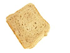 Free Up View Of Stacked Sliced Bread Stock Photography - 5815772