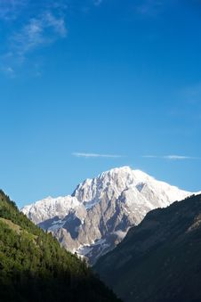 Free Mont Blanc Stock Photo - 5816150
